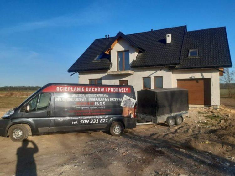 Wdmuchiwanie izolacji, wełny i celulozy, w całej Polsce 2020