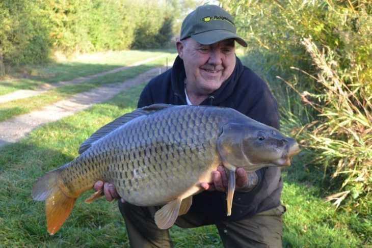 Barkers lake ringstead - common carp
