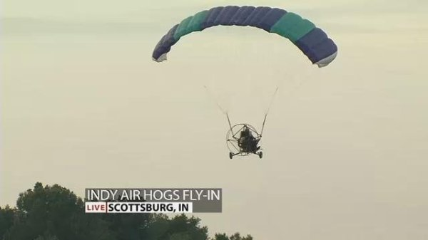 Indy Air Hogs 9th Annual Powered Paraglider Fly-In Sept. 8 ...