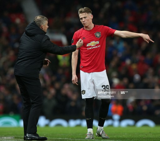 Scott McTominay has also leapt to the defence of his teammate Bruno Fernandes