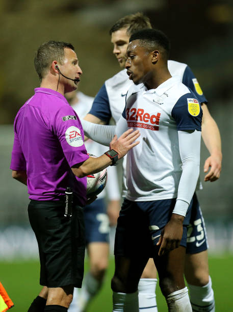 FA charges Preston's Fisher after touching opponent's genitals