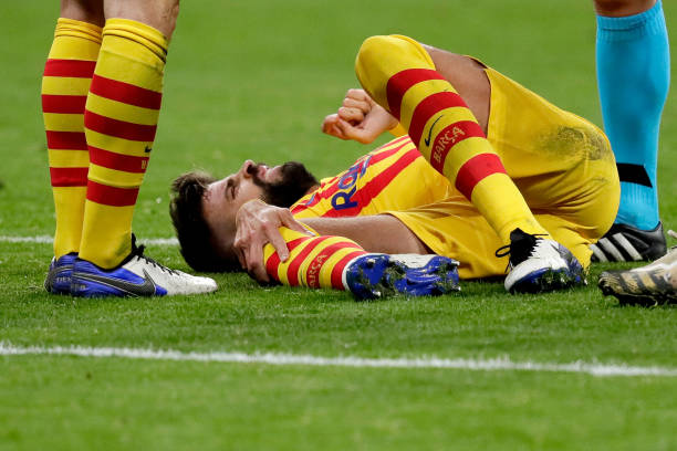 Pique and Roberto both set for spell on the sidelines