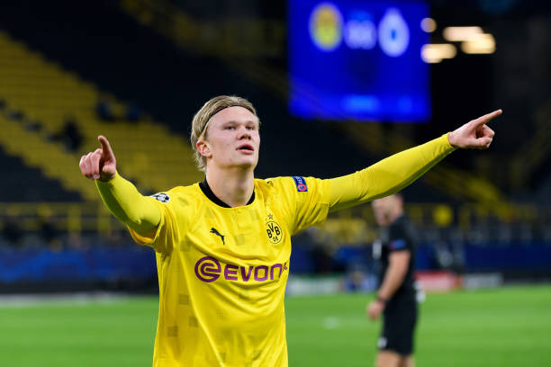 Erling Haaland reaches Champions League milestone