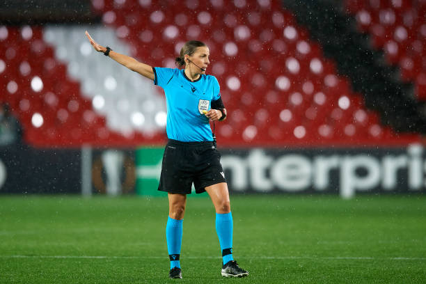 Stephanie Frappart to become first female to officiate in UCL