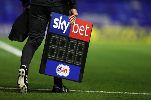 EFL teams vote to permit five substitutions for rest of season