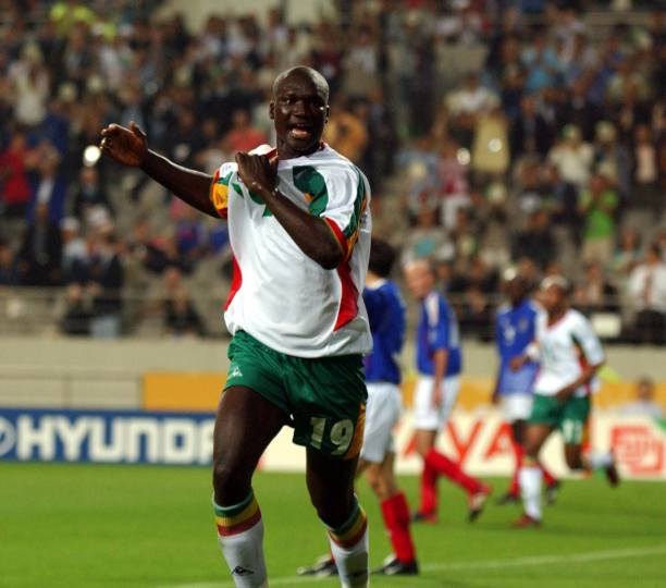 Ex Fulham and Portsmouth star Papa Bouba Diop aged 42
