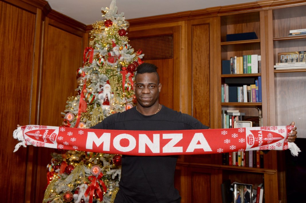 Free agent Balotelli joins Serie B side Monza