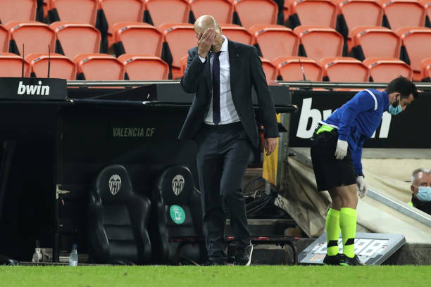 Zidane won't quit as Real Madrid's form worsens