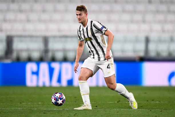 Juventus defender De Ligt returns positive COVID-19 test