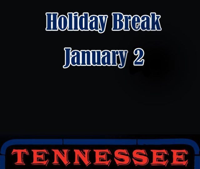 Tennessee Shines Holiday Break