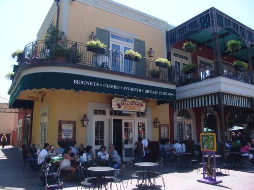 Ralph Brennan's Jazz Kitchen in Downtown Disney, Anaheim, CA