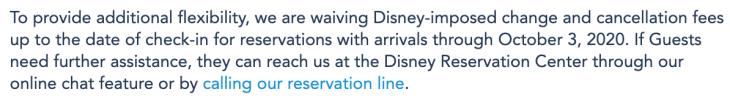 Walt Disney World Resort COVID-19