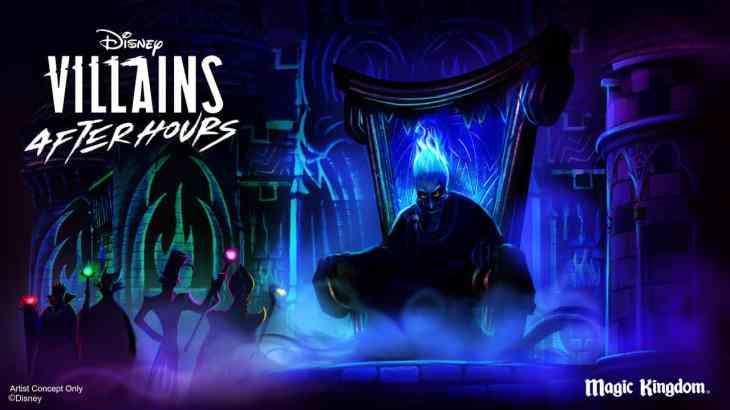 Disney Villains After Hours rendering