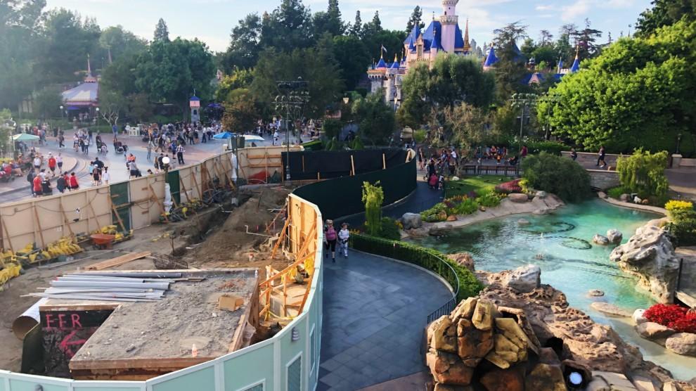 California Disney Entrance Adventure Print