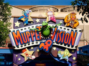 The Muppet*Vision 3D Sign. Photo: Disney Parks Blog
