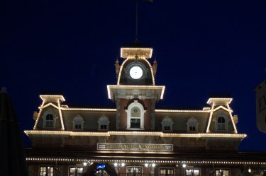 The Magic Kingdom Train Station. Photo: Jane Collins