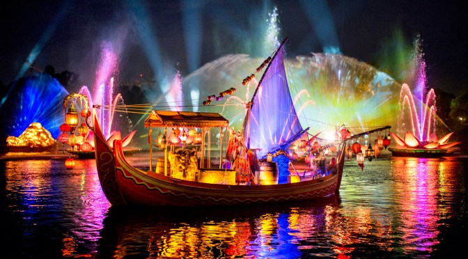 "VIDEO: IN CASE YOU MISSED IT: Walt Disney World's Live Stream of ""Rivers of Light"""