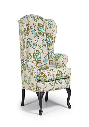 Sylvia Queen Anne Wing Chair Wholesale Design Warehouse Fine Furniture