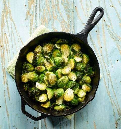 They have more glucosinolates (compounds that combat cancer and detoxify our bodies) than any other vegetable. For a side dish that will make you wonder why you've been avoiding them, slice each one into quarters, then sauté in olive oil with chopped sweet Vidalia onions. Try this Maple Glazed Brussels Sprouts with Pecorino Cheese and Almonds.