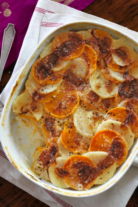 Add a little seasonal sweetness to your usual potato gratin with butternut squash. Get the recipe.