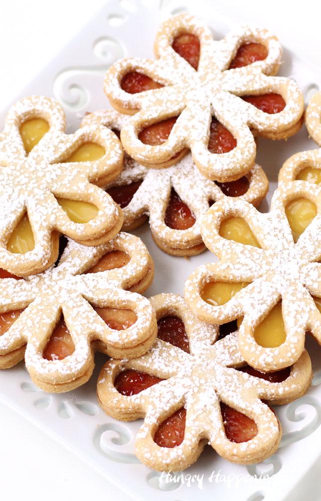 Linzer Cookies How To Make Linzer Cookies
