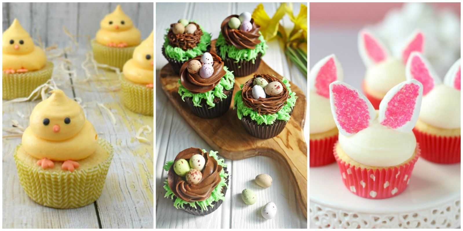 21 Cute Easter Cupcakes- Easy Ideas For Easter Cupcake Recipes