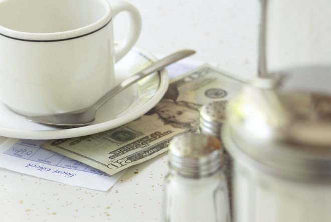 The next time you go out to eat, leave your waitress a much bigger tip than usual.