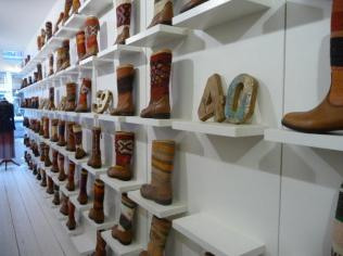Inside Kiboots Store