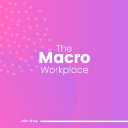 the macro workplace by esc