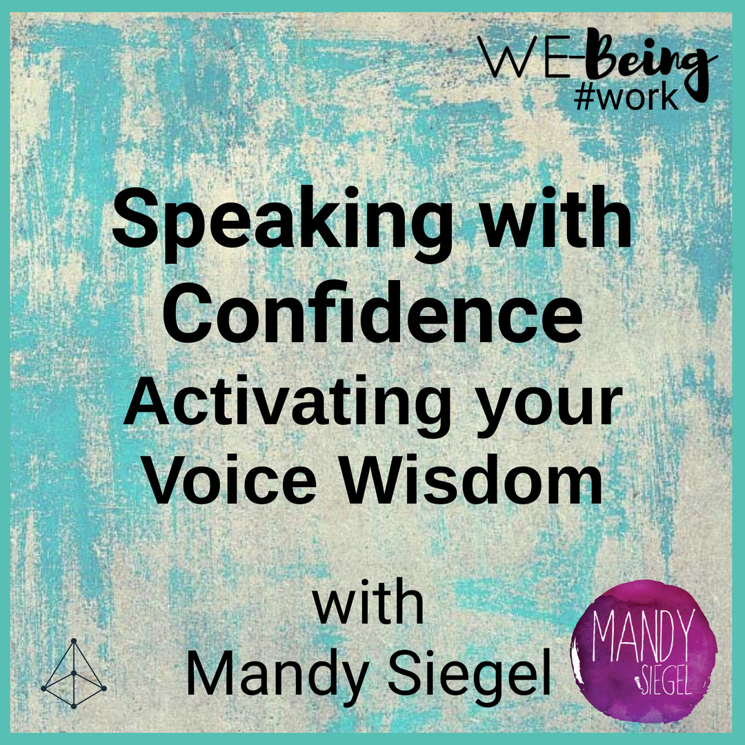 Speaking with Confidence with Mandy Siegel