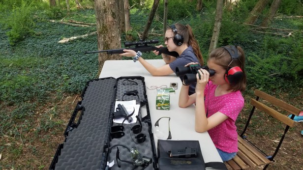 We bought the farm shooting range
