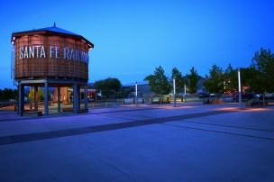 Santa Fe Railyard Park. Santa Fe, New Mexico USA Lighting design: Jim Conti Lighting Design Landscape architect: Ken Smith Workshop Photo: Ralph Alphonso