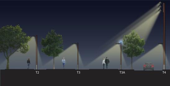 Tulsa Central Park Site Plan (poles) / Tulsa, OK / Courtesy of Domingo González Associates