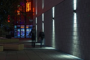 QLS400 LED: Feethams Leisure Centre. Darlington, Teeside (UK)