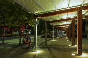VLR400 LED: City Bus Station. Cairns, AUS.