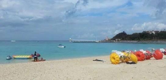ブセナのビーチ