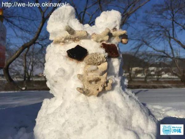 雪シーサー
