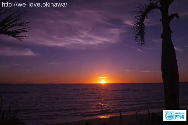 maehama-beachsunset