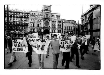 Venezia, 1968. Proteste studentesche, XXXIV Esposizione Biennale Internazionale d'Arte