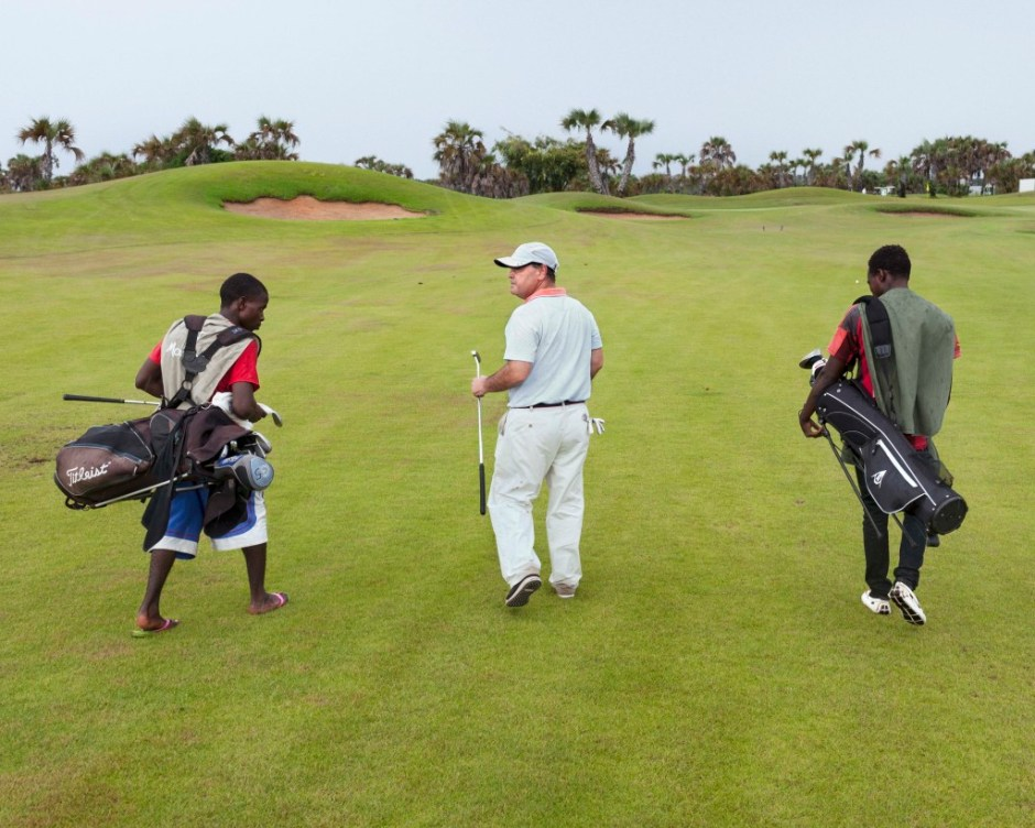 One hour south of Luanda lies the 18-hole Mangais championship golf course, host to PGA tournaments. Mercer, a leading financial analysis firm, ranks Luanda as the most expensive city in the world. This is despite the fact that two-thirds of Angola's population lives on less than $2 a day and 150,000 children die before the age of 5 each year, from causes linked to poverty. Over 98% of Angola's exports come from oil or diamonds. Researchers James Boyce and Léonce Ndikumana showed that Angola suffered $80 billion in capital flight from 1970-2008, with most of the money ending up in tax havens. Angola.