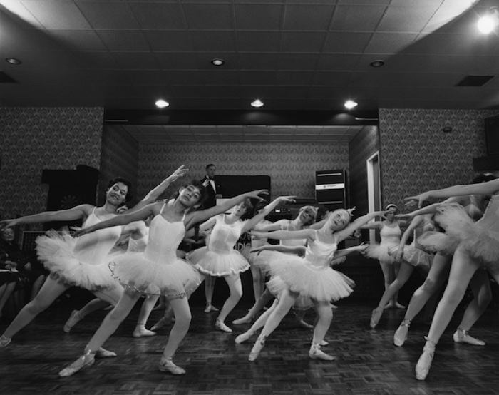 Dance display at Terminus club, 1982, from 'Step by Step'.