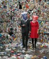An interview with Swaantje Güntzel, the artist who throws plastic trash back into our faces