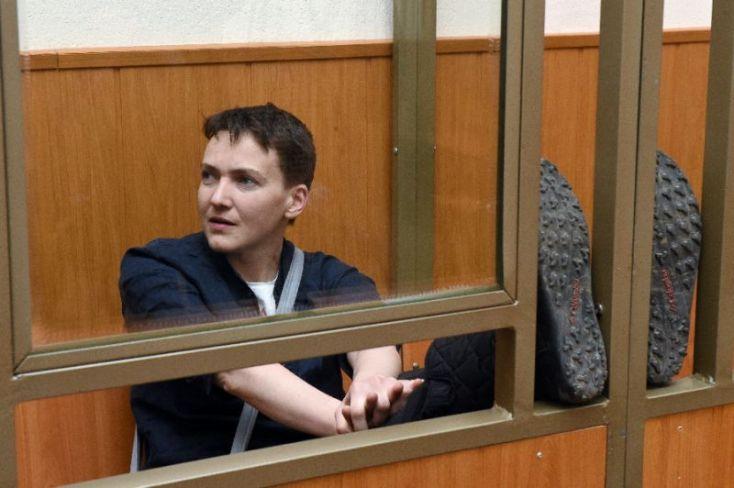 Украинская летчица Надежда Савченко была приговорена к 22 годам тюрьмы за убийство двух российских журналистов в 2014 году (фото AFP/Василий Максимов)