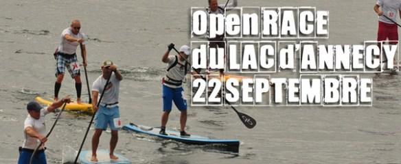 1 ère open race du lac d'Annecy