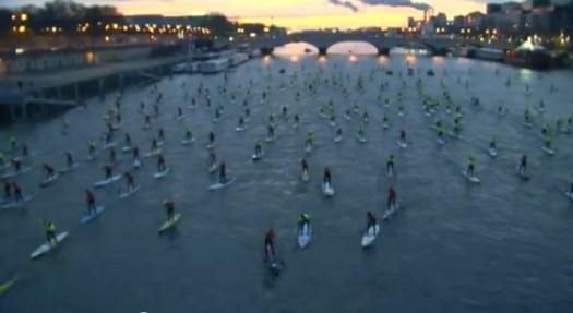 Paris SUP Crossing 2012