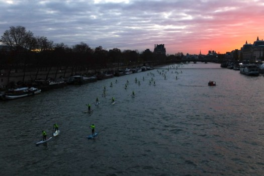 4eme édition du Paris SUP crossing