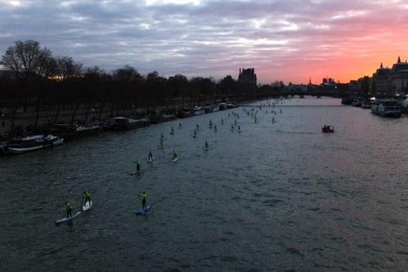 4eme édition du Paris SUP crossing