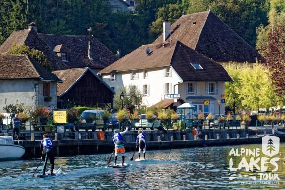 alpine lakes tour savières