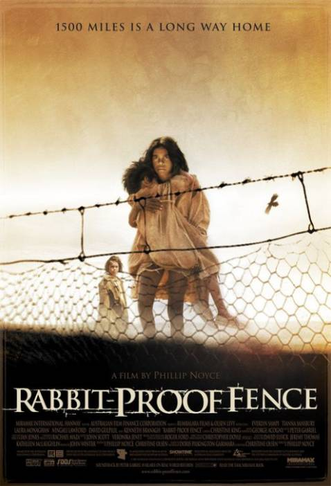 """Rabbit Proof Fence"" directed by Philip Noyce SURVIVAL NOTES"