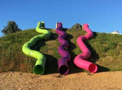 Slides at the KOA Mystic